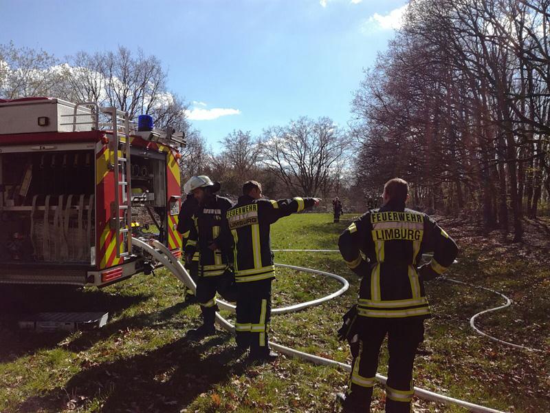 Waldbrand Lindenholzhausen 28.03.2017 - (c) Feuerwehr Lindenholzhausen